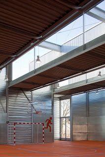 Pabellón deportivo para el C.E.I.P. Pablo Iglesias de Talavera de la Reina - Archkids. Arquitectura para niños. Architecture for kids. Architecture for children.