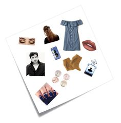 """""""Untitled #16"""" by kelsey2o16 ❤ liked on Polyvore featuring Post-It, Hollister Co., MIA, Lime Crime, Kate Spade and Guerlain"""