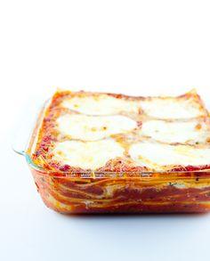 Four Cheese Lasagna Recipe | Zen Can Cook