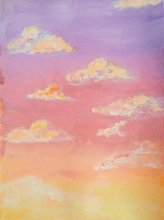 Can be a sunrise or a sunset it really depends on my mood I just wanted to paint a pink sky with my acrylics Pink sky wallpaper aesthetic acrylics painting clouds Cute Canvas Paintings, Small Canvas Art, Easy Canvas Painting, Mini Canvas Art, Sunrise Painting, Pink Painting, Painting Clouds, How To Paint Clouds, Sunset Acrylic Painting