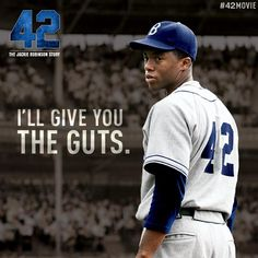 """The True Story of an American Legend"""" (The Jackie Robinson Story) - Now playing in theaters everywhere! Go see it today! Baseball Movies, Baseball Quotes, Baseball Pictures, The Jackie Robinson Story, Marvel Fight, Athlete Quotes, American Legend, Dodgers Baseball, Faith In Humanity Restored"""