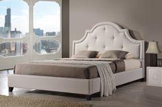 Baxton Studio Colchester Platform Bed | Wayfair