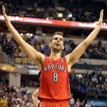 Notte NBA: D'Antoni perde all'esordio mentre vincono i Raptors (tripla doppia di Calderon). http://www.palledicuoio.com/wordpress/notte-nba-dantoni-perde-allesordio-mentre-vincono-i-raptors-tripla-doppia-di-calderon/
