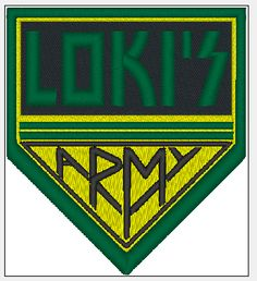 LOKIS ARMY sew on patch