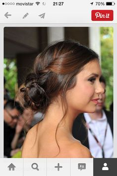 Fresh Cute Bun Hairstyles for Prom: Cute Bun Hairstyles for Prom Awesome Celebrity Hairstyles Celebrity Prom Hair Updos the Best Bun Hairstyles, Pretty Hairstyles, Wedding Hairstyles, Updo Hairstyle, Perfect Hairstyle, Wedding Updo, Prom Updo, Prom Braid, Hairstyle Ideas
