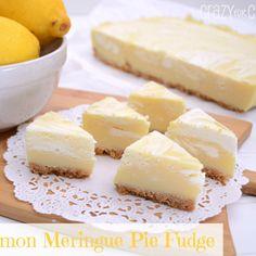 Lemon Meringue Pie Fudge - Add this recipe to your meal plan. get.ziplist.com/clipper