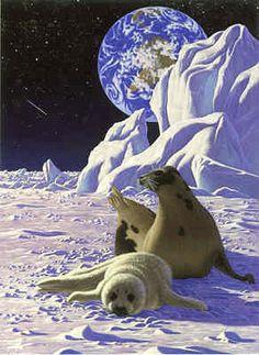 Schim Schimmel Schim Schimmel Limited Edition Giclee on Paper The End of Innocence - Seal