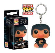 Llavero Niffler 4 cm, Animales fantásticos y dónde encontrarlos. Pocket POP, Funko  Llavero de Niffler, personaje del film Animales fantásticos y dónde encontrarlos, dentro del universo Harry Potter.
