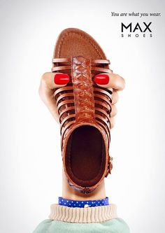 MAX Shoes: You are what you wear Campaign