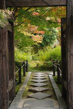 quaint pathway in JapanBrought to you