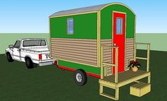 World's smallest house on wheels: Gypsy wagon - Simple Solar Homesteading