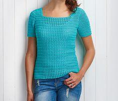 Simply Crochet cotton treble tee - pattern on Ravelry!