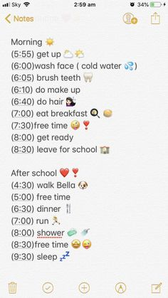 Best Picture For Night Routine couple For Yo School Routine For Teens, Morning Routine School, School Routines, Life Hacks For School, Middle School Hacks, School Goals, School Schedule, School School, Daily Routines
