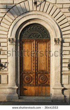 Italian Archway | Old Italian Door Stock Photo 36441553 : Shutterstock