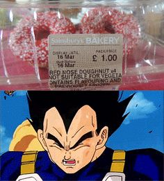 Apparently my doughnuts weren't DBZ friendly.