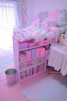 Pastel Aesthetic Room Ideas - Art and Decoration Ideas Cute Room Ideas, Cute Room Decor, Pastel Room, Pink Room, My New Room, My Room, Girls Bedroom, Bedroom Decor, Bedrooms