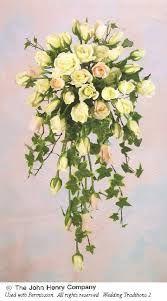 cascading flowers bouquet - Google Search