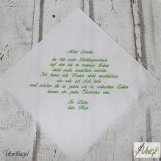 Freudentränentaschentücher für die Liebsten