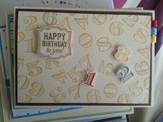 #Birthday#Stampin`Up!