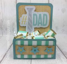 i love 2 cut paper: Father's Day Gift Box - Pazzles Design Team