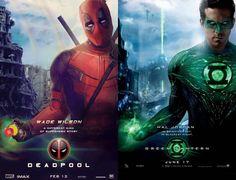The Poster Poking Fun at Green Lantern