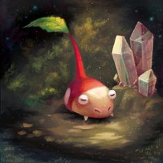 Lonely Bulbmin by Cortoony on DeviantArt