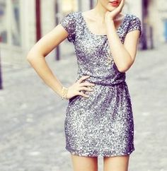 Little Silver Dress » I am in love with this dress! » Does anyone know where it comes from?