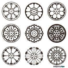 Diy Crafts For Gifts, Crafts For Kids To Make, Art For Kids, Lotus Kunst, Lotus Art, Mandala Design, Mandala Art, Mouse Illustration, Stencils