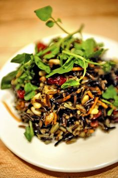 Wild Rice Salad- Native American Recipe from the Mitsitam Cafe, National Museum of the American Indian
