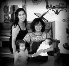 Mi hija y mis nietas