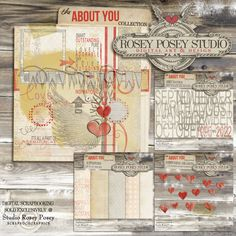 About You By Rosey Posey