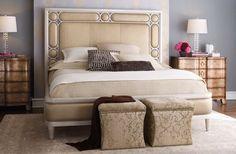Soft Purple Wall Scheme in Small Bedroom