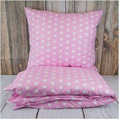 """Pościel z bawełny """"Pink Dreams"""" 160x200cm + 2x70x80cm - Dom i styl życia"""