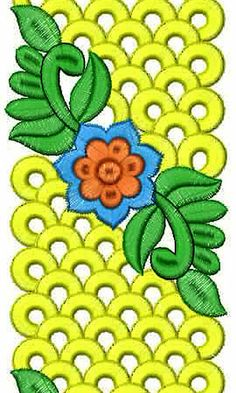 Hyderabad Textile | Fom Rubber Lace Embroidery Design