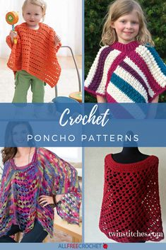 Stitch Lace Poncho Free Crochet Pattern This flattering, fashionable and classy poncho will likely be a breezy and exquisite addition to your wardrobe. The Wave Sew Lace Poncho Free Crochet . Crochet Poncho Patterns, Shawl Patterns, Knitted Poncho, Crochet Shawl, Knitting Patterns, Knitting Ideas, Crochet Vests, Crochet Cape, Crochet Edgings