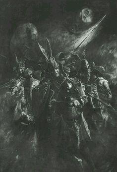 Comtes Vampires, par (auteur inconnu), in Warhammer Battle 6e édition livre d'armée Comtes Vampires, par Games Workshop