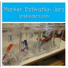 Marker Estimation Jars @ prekinders.com