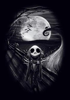 Scream Jack Skellington