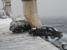 Take a Gravol before watching this insane Russian car ship video - Truly not a video for the faint of heart. Or Japanese used car lovers. Or those prone to seasickness. In extremely heavy seas, 52 of 64 cars went overboard, never to be seen again.