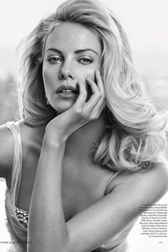 Charlize Theron in Vogue UK May 2012