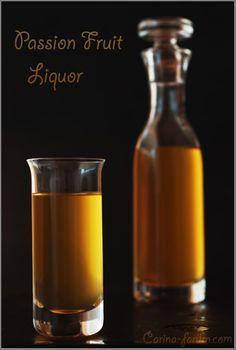 Passion Fruit Liqueur / Likier z Marakui