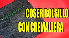 Continuando con los diferentes tipos de bolsillos hoy les enseño cómo coser el bolsillo con cremallera. Se trata de una bolsa escondida en el interior de la ...