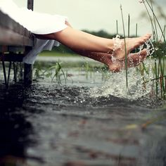 Is there anything better than splashing your feet on a summer afternoon?