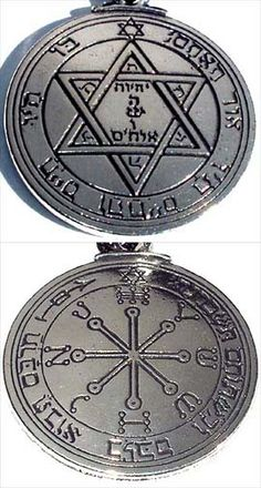 Pentacles  used for Health & Protection   Amulets & Talismans