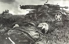 Recently this photograph popped up on the world wide web depicting a German Soldier who was Killed in Action lying in front of a German tank. The photograph in full size seen here: The German KIA Soldier, with the rank of Gefreiter (Lance Corporal) lies in front of a disabled German Panzerkampfwagen IV (Ausführung F2Read More