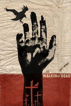 The Walking Dead Art Print this would make a sweet tattoo