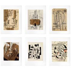 Art prints | Cubism: The Leonard A. Lauder Collection Print Folio features a collection of works by artists Georges Braque, Juan Gris, Fernand Leger and Pablo Picasso