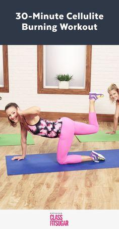 Cellulite burning workout