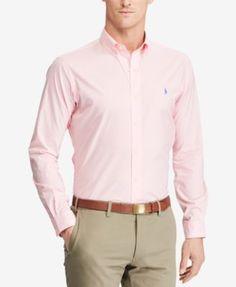 POLO RALPH LAUREN Polo Ralph Lauren Men'S Standard Fit Cotton Shirt. #poloralphlauren #cloth #down shirts