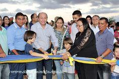 Santa Filomena Atual: Prefeitura de Santa Filomena inaugura calçamento e...